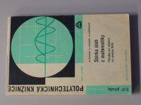 Čermák, Kamarýt, Kořínková - Sbírka úloh z matematiky - Příručka pro přípravu na VŠ (1967)