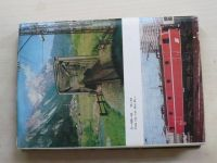 Jelen - Světové železnice 1. a 2. díl (1988,1989) - 2 knihy