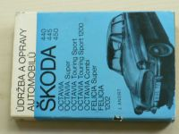 Andrt - Údržba a opravy automobilů Škoda 440,445,450 Octavia, Super, Touring Sport, Felicia Super