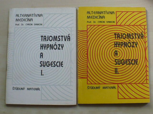 Damon - Tajomstvá hypnózy a sugescie I. a II. (1991) slovensky
