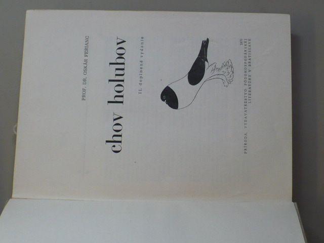 Ferianc - Chov holubov (1970) slovensky