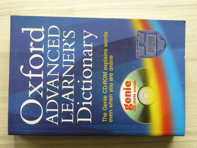 Oxford Advanced Learner's Dictionary of Current English (2000) + CD-ROM, anglicky