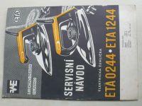 Servisní návod - Elektrická žehlička ETA 0244, ETA 1244