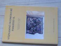Významné olomoucké památky II., Sborník 2002