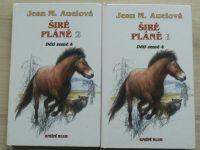 Auelová - Širé pláně 1,2 - Děti země 4 (1996) 2 knihy