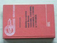 Baťa - Údržba a opravy vozů Škoda 1000 MB, 1000 MBG, 1000 MBX, 1100 MB, 1100 MBX (1975)
