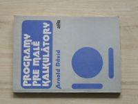 Dávid - Programy pre malé kalkulátory (1985) slovensky
