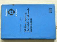 Novotný, Liška - Údržba a opravy pístových a rotačních kompresorů (1964)