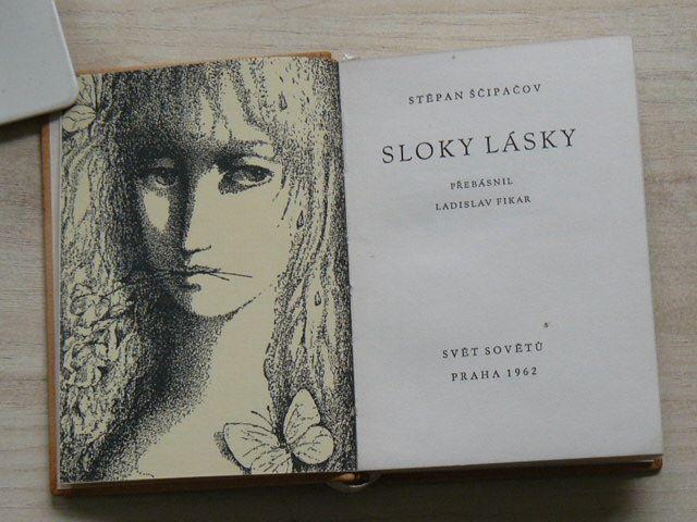 Ščipačov - Sloky lásky (1962) přebásnil Ladislav Fikar