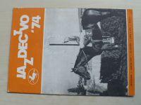Jazdectvo 1-12 (1974) ročník XXII. (slovensky)