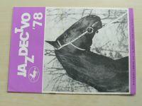 Jazdectvo 1-12 (1978) ročník XXVI. (slovensky)