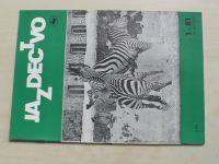 Jazdectvo 1-12 (1981) ročník XXIX. (slovensky)