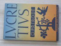 Lucretius - O přírodě - Laichterova filosofická knihovna 1948