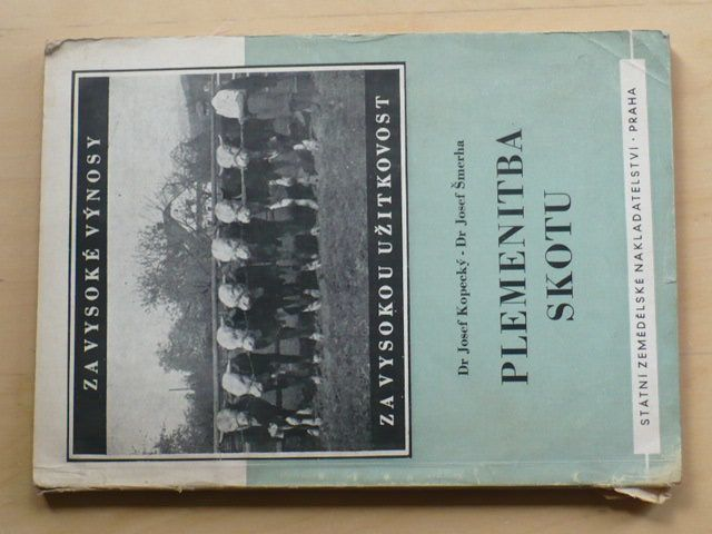 Kopecký, Šmerha - Plemenitba skotu (SZN 1954)
