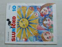 Sluníčko 10 (1987) ročník XX.