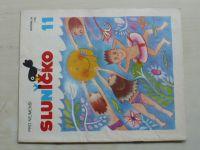 Sluníčko 11 (1987) ročník XX.