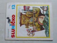 Sluníčko 12 (1988) ročník XXI.