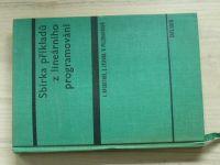 Rychetník, Zelinka, Pelzbauerová - Sbírka příkladů z lineárního programování (1968)