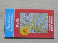 Baedeker turistický průvodce - Paříž - Mapa města k průvodci 1 : 17 500