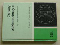 Hajach - Základy elektrotechniky II pro 2. ročník SPŠ elektrotechnických (1985)