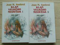 Auelová - Děti země 1 - Klan velkého medvěda 1, 2 (1993) 2 knihy