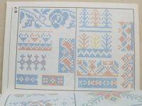 Benešová - Vyšívání díl 3. - Křížkové a čárkové vyšívání (1983)