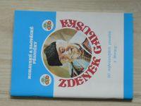 Galuška - Moravské a slovácké pěsničky (1991) věnování a podpis autora