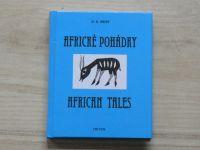West - Africké pohádky / African Tales (2011) souběžný český a anglický text