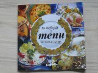 Illková - To nejlepší z MENU - Kuchařská kniha