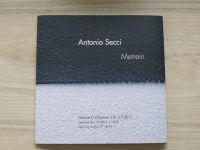 Antonio Secci - Metrein (Galerie G Olomouc 2011, katalog výstavy)
