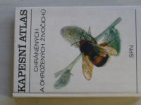 Pecina - Kapesní atlas chráněných a ohrožených živočichů (1983)