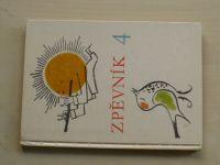 Jirotková -  Zpěvník pro 4. ročník základní devítileté školy (1974)