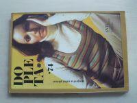 Pešková - Dopleta 74 - Strojové a ruční pletení (1974)