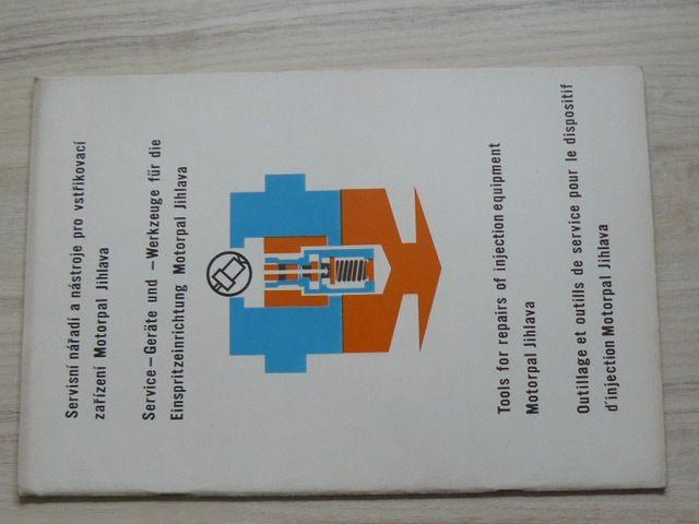 Servisní nářadí a nástroje pro vstřikovací zařízení Motorpal Jihlava
