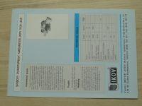 Spádový dvoustupňový karburátor Jikov 28-30 LEKR - prospekt