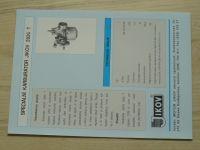 Speciální karburátor Jikov 2826 T - Prospekt