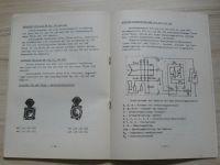 Werkstätten Handbuch Elektrische Ausrüstung für Personenkraftwagen ŠKODA - PAL Magneton 1978