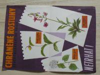 Chráněné rostliny severomoravského kraje - Netrhat! - Plakát A4