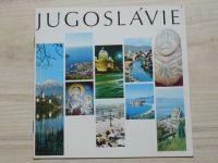 Jugoslávie - (Beograd) propagační turistický prospekt, česky