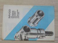 Návod na pripojenie domácích zariadení na vodovodné potrubie (nedatováno) slovensky