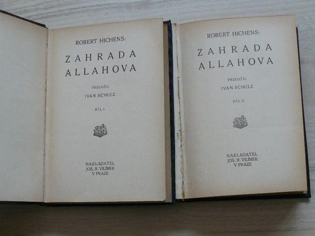 Hichens - Zahrada Allahova I. II.