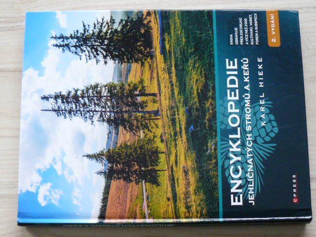 Hieke - Encyklopedie jehličnatých stromů a keřů (2019)