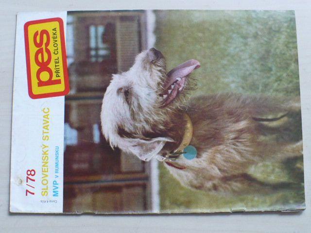 Pes přítel člověka 7 (1978) ročník XXIII.
