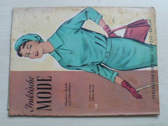 Praktische Mode 10 (1958) německy