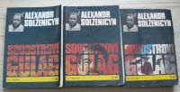Solženicyn - Souostroví Gulag 1. 2. 3. (1990) 3. knihy