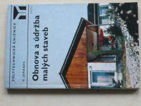 Jeřábek - Obnova a údržba malých staveb (1976)