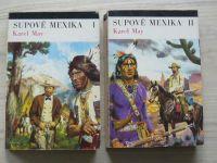 May - Supové Mexika I. a II. díl (1973) il. Burian - 2 knihy