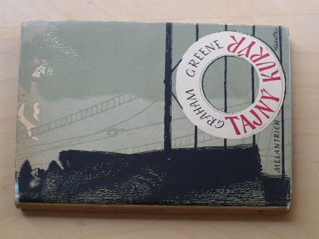 Greene - Tajný kurýr (1948) obálka Kubašta