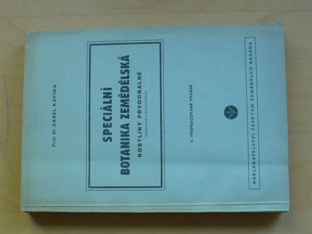 Kavina - Speciální botanika zemědělská (1951) Rostliny prvobalné