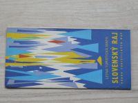 Súbor turistických máp - 1 : 100 000 - Slovenský raj - Letná mapa (1982) slovensky